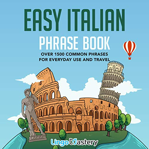 『Easy Italian Phrase Book』のカバーアート