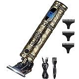 Clippers para el cabello Trimmer eléctrico Cuchillas de precisión afiladas Cabradoras inalámbricas con recorte suave 180 minutos Tiempo de trabajo para hombres Kit de corte de cabello para niños inalá