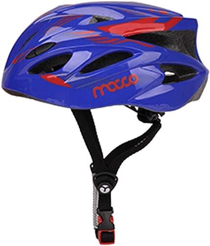 Casques De Vélo pour Enfants Enfant Bambin pour Le Multi-Sport Cyclisme Faire De La Planche à roulettes Scooter Patins à roulettes Patin à Roues Alignées, 2 Tailles (Couleur   bleu, Taille   M)