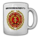Grenzregiment 9 DDR NVA Deutsche Demokratische Republik Abzeichen - Tasse #13222