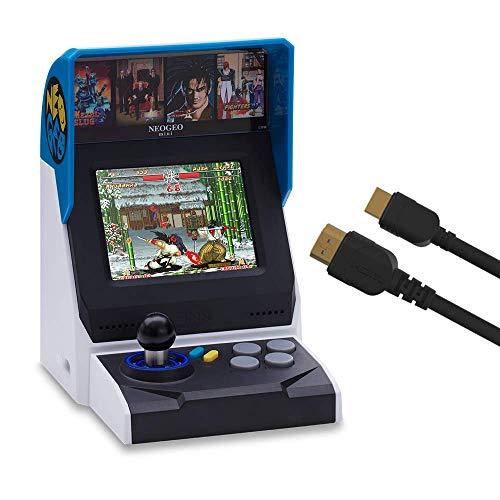 NEOGEO Mini Console: International Edition + HDMI Cable (Includes 40 Games)