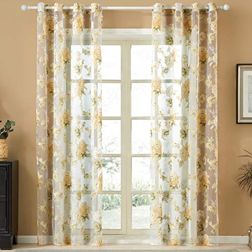cortinas lino comedor