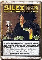 Silex Coffee Filter ティンサイン ポスター ン サイン プレート ブリキ看板 ホーム バーために