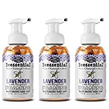 Beessential All Natural Foaming Hand Soap, Lavender, 8 oz 3 Pack   Made with Moisturizing Aloe & Honey - Made in the USA