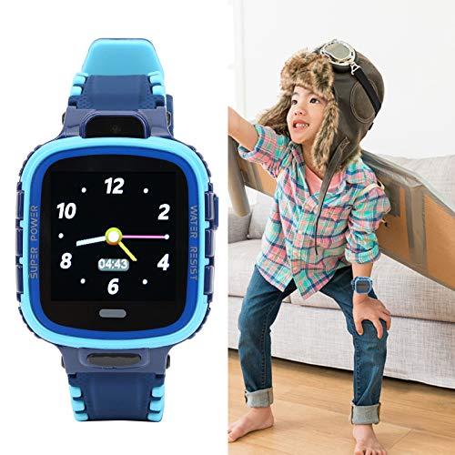 JIAYOUMIhome Relojes inteligentes para niños y niños GPS relojes inteligentes impermeables relojes de teléfono SOS alarma de caída con pantalla para garantizar la seguridad del niño