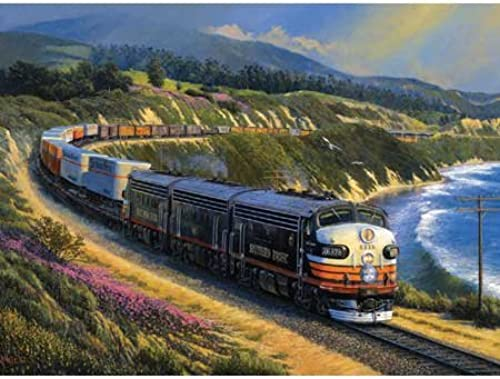 noir Widow on the Coast Line 1000pc Jigsaw Puzzle by John Winfield by SunsOut