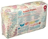 Honest Disposable Baby Diapers, Rose Blossom, Size 0
