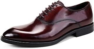 Zapatos para hombre de negocios,Derby formal con cordones de zapatos del ocio Zapatos de vestir para la boda Zapatos de cu...