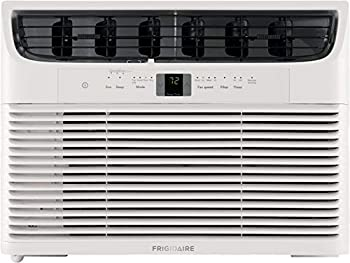 Frigidaire 10,000 BTU 115V Window-Mounted Compact Air Conditioner with Remote Control White