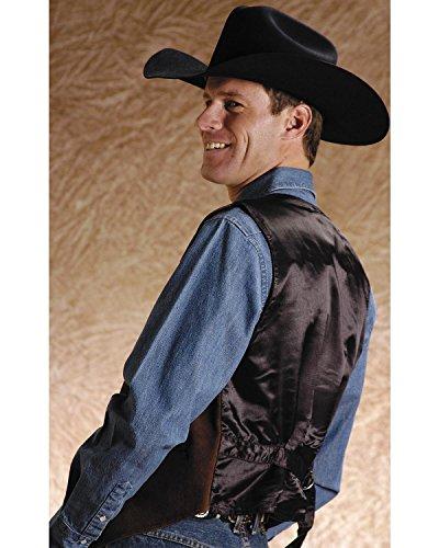 Roper Men's Suede Buckle Tie Vest – 02-075-0500-0513 Br