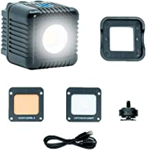 Lume Cube 2.0 - Daylight Balanced LED Light for Photo, Video, Content Creation, Includes Warming Gel, Diffuser, DSLR Camera Mount for Sony, Nikon, Panasonic, Fuji, Canon, GoPro, Drones