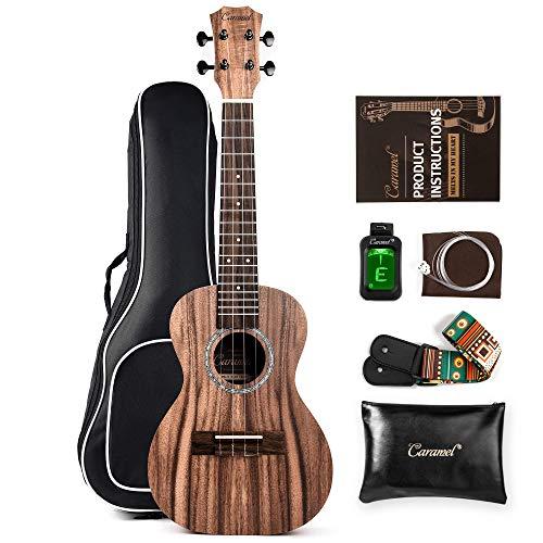 Caramel Acacia koa ukulele