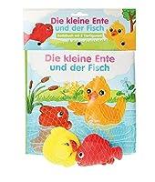 Badebuch Die kleine Ente und der Fisch: mit 2 Figuren