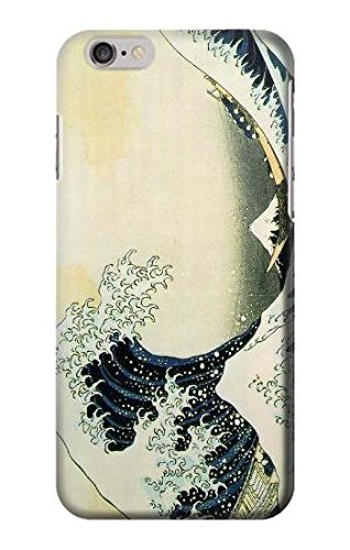 Katsushika Hokusai The Great Wave of Kanagawa Case Cover Custodia per iPhone 6 Plus iPhone 6s Plus
