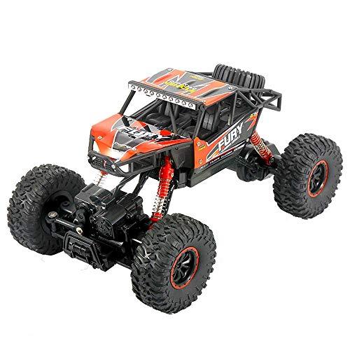 YLJYJ Coches RC Camión de Control Remoto Vehículo Todoterreno 2.4Ghz 4WD Alta Velocidad Buggy controlado por Radio Crawler Rock Car All Terrain Off (automóvil Inteligente)