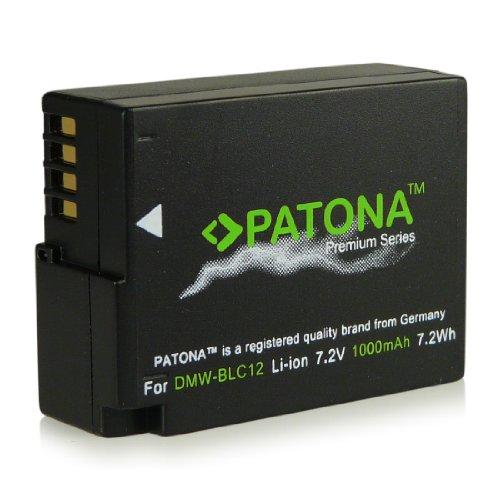 Premium Batteria DMW-BLC12E | DMW-BLC12PP per Panasonic Lumix DMC-FZ200 | DMC-FZ300 | DMC-FZ1000 | DMC-G5 | DMC-G6 | DMC-G70 | DMC-GH2 | DMC-GX8