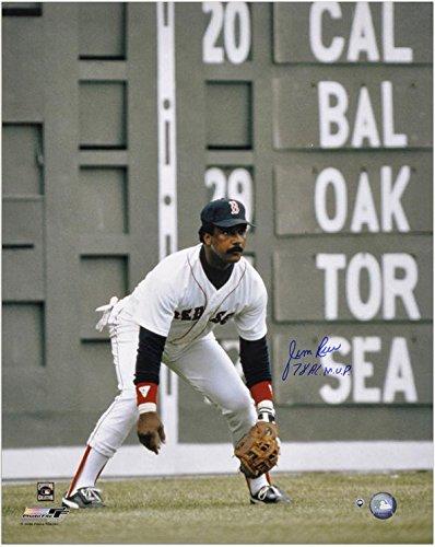 "Jim Rice Boston Red Sox Autographed 16"" x 20"" Photograph with 78 AL MVP Inscription - Fanatics Authentic Certified"