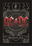 Heart Rock Licensed Flagge AC/DC – Black Ice, Stoff,