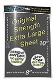 "LightDims Customizable Dimming Sheets (1 Sheet) Original Strength Dims 50-80% of Light, Extra Large Size 8""x10"" Retail Packaging"