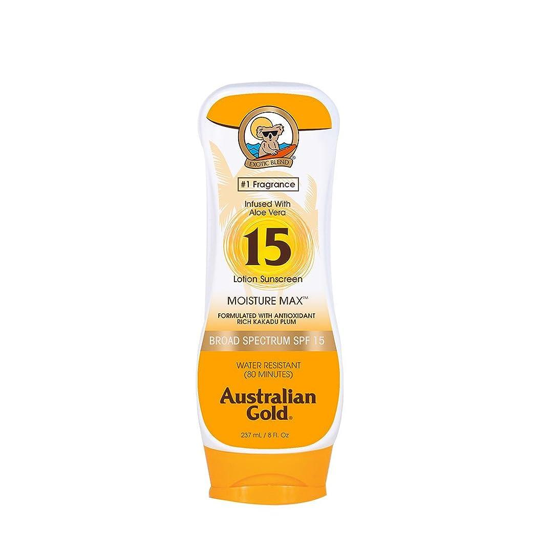 シロナガスクジラカレッジ廃棄するAustralian Gold Lotion Sunscreen Broad Spectrum SPF 15 237ml/8oz並行輸入品