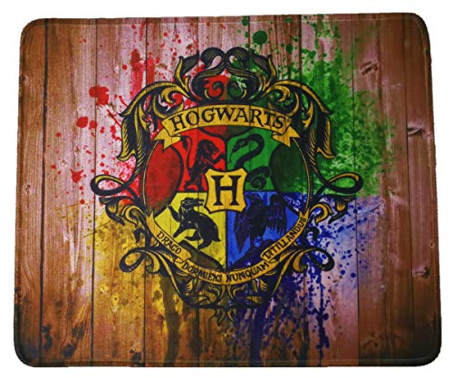 Harry Magic School Large Mouse Pad Funny Gift 12x10 Inches Table Mat for Gaming Office Cowork