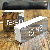 lilypin® Multifunctional Travel Table Digital Led Alarm Clock with Snooze Thermometer Night Mode