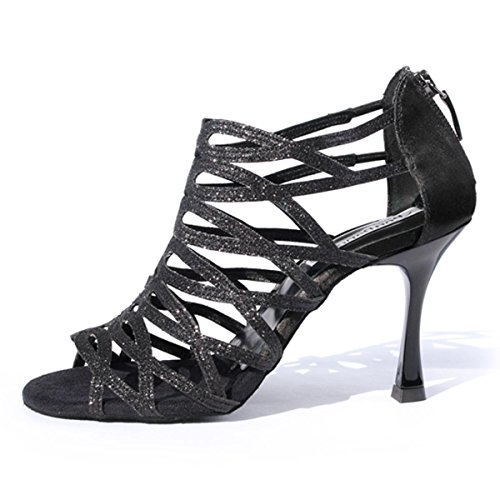 PortDance Mujeres Zapatos Baile PD803 Pro - Satin/Glitter