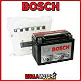 0092M60100 BATTERIA BOSCH YTX9-BS SIGILLATA CON ACIDO YTX9BS MOTO SCOOTER QUAD CROSS