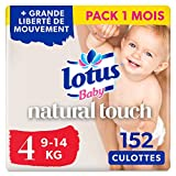 Lotus Baby Natural Touch  - Culottes Taille 4...