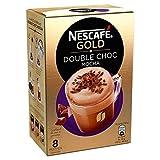 Paquetes de café instantáneo | Nescafé | Oro Doble Choc Mocha 8 Stuks | Peso Total 148 grams