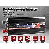 Giantz 2500W/5000W Portable Power Inverter 12V-240V Remote Camping Boat Caravan