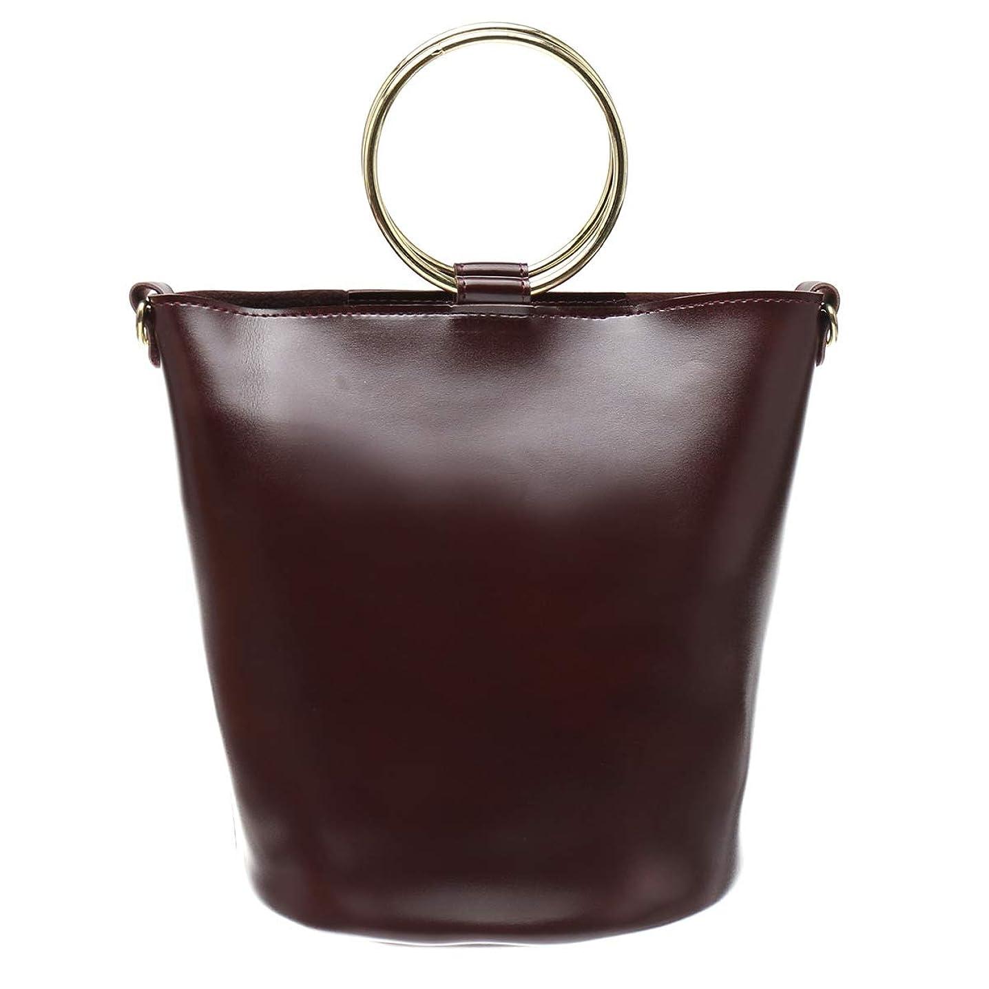 予測子物思いにふける離すゴールドリング ハンドルバッグ バケツ型 バケツバッグ ハンドバッグ ショルダーバッグ レディース バッグ bag