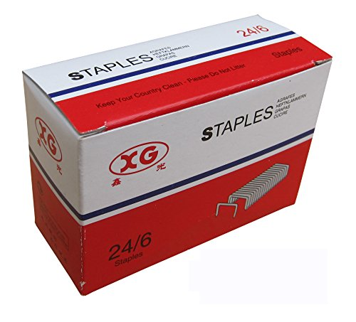 Fitool 24 6 No 3 1 M Punti Per Cucitrice Da Ufficio Standard Flat Clinch Staples 5 000 Staples
