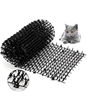 kat scat mat met spikes, 2m x 0.3m kat hond dier spikes afstotende afstotende mat anti-kat mat voor tuin hek