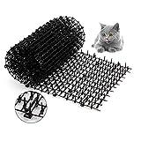 Gato Scat Mat ,2 m x 0,3 m Red Anti-Gato Tapón de excavación Herramientas Protectoras de jardín,Dispositivos disuasivos para Interiores y Exteriores
