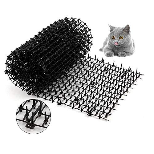 Tappeto Cat Scat con punte,2M Tappetini Per Animali Repellent,Tappetino Anti Cat per giardino, recinzione