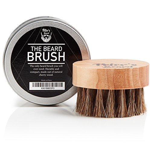 Brosse à Barbe Premium en Bois à Cheveux Pour Hommes - La Seule Brosse à Barbe dont Vous Aurez...