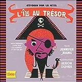 L'île au trésor - Stevenson pour les petits: Mon premier livre sur les formes et set de jeu (7 planches en carton avec formes à détacher)