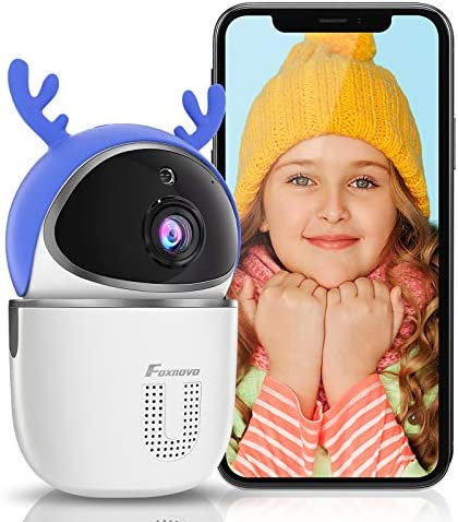 WiFi Baby Monitor Camera Smart Foxnovo 1080PHD Computer Webcam Two Way Audio Human Motion Detection product image