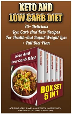Keto and Low Carb Diet Box Set