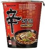 Nong Shim Noodles Shin Shin Cup - Pacco da 12 x 68 g, Totale: 1200 g