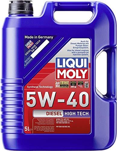 LIQUI MOLY 1332 Diesel High Tech Motoröl 5 W-40 5 L