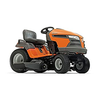 42-inch 960430211 YTA18542 18.5-HP Fast Continuously Variable Transmission Pedal Tractor Mower from Husqvarna