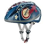 オージーケーカブト(OGK KABUTO) 自転車 ヘルメット 子ども用 STARRY (スターリー) フラッグブルー 児童用 (頭囲 54~56cm未満)