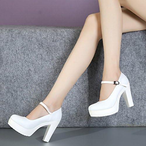 GTVERNH-Chaussures De Marche Show Modèle Cheongsam Chaussures Des Chaussures Des Chaussures à Talon Unique Blanc De 10 Cm Trente - Neuf