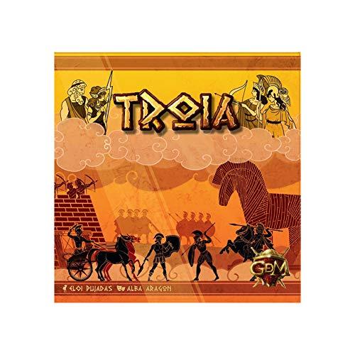 GDM Games- Troia Spielset für Spiele, 638097863040, Mehrfarbig