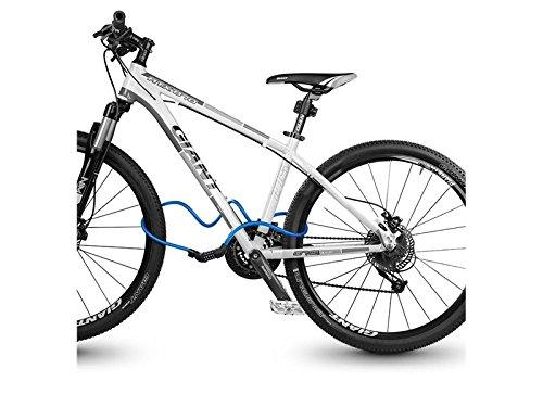 ATTOUPAN - Candado de Seguridad para Bicicleta, combinación de ...