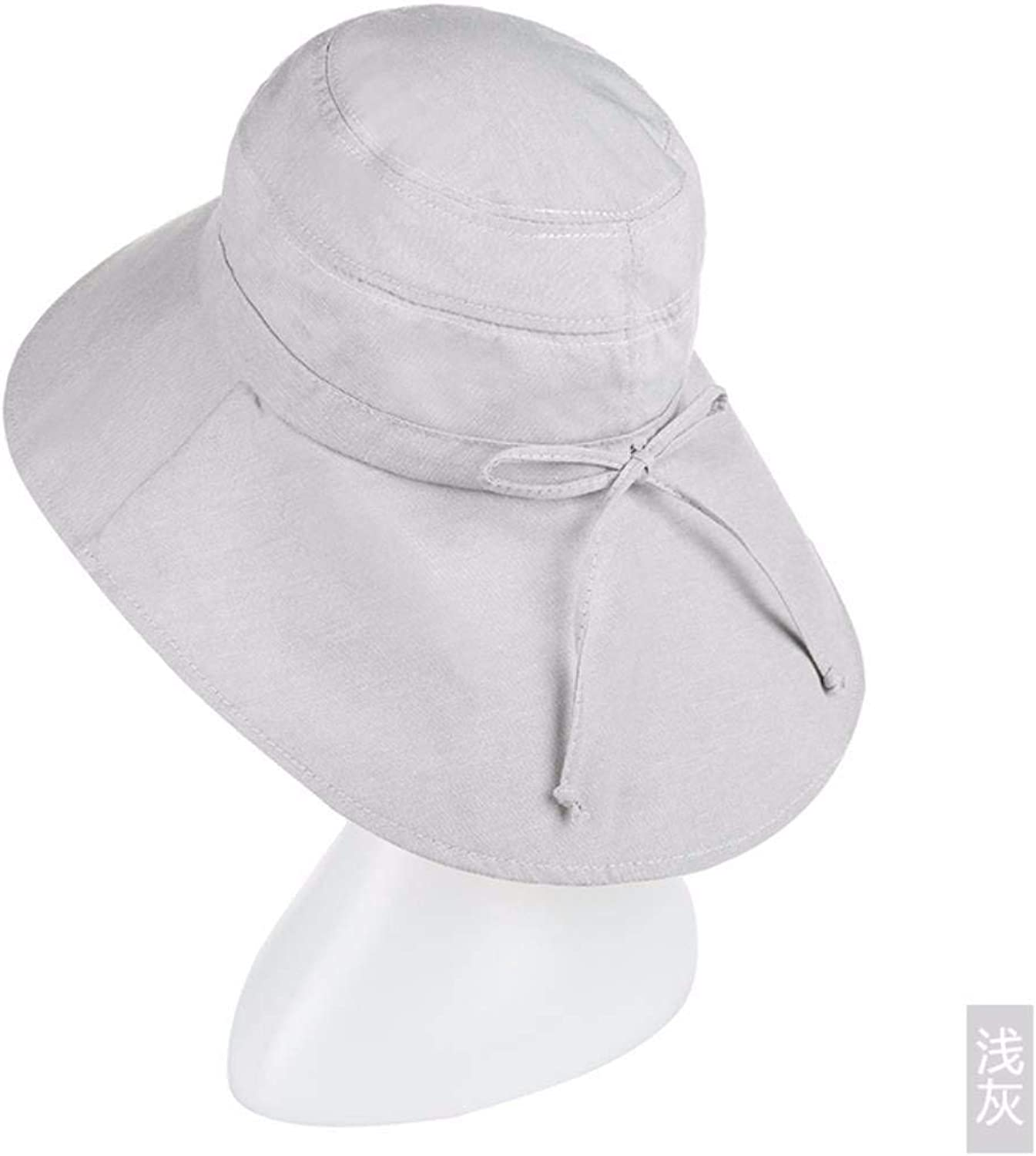 Dingkun Gift for Mom Gift for grandmother Summer hat folding outdoor sun hat cycling hat shading cap Beach Hat Hat