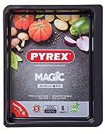 Pyrex 4937639 Magic Baking Dish, Black, Carbon Steel