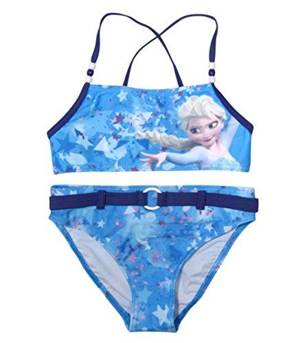 Frozen Bikini Die Eiskönigin Anna und ELSA Völlig Unverfroren (110-116, Bikini; Blau)